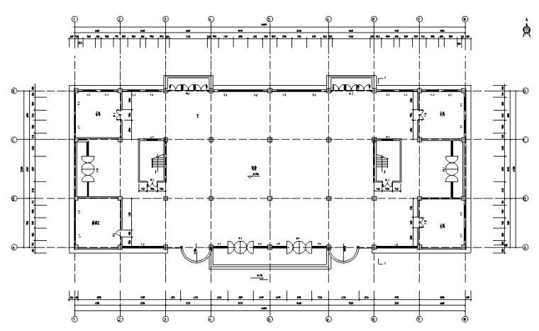 某4层商场框架结构毕业设计(计算书、施工组织/建筑结构设计)_10
