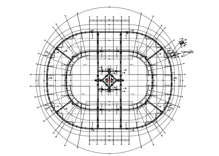 马道结构平面布置图