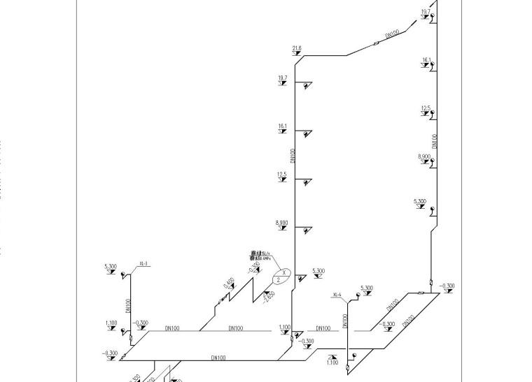 [哈尔滨]办公楼电气施工图纸(含建筑及给排水)
