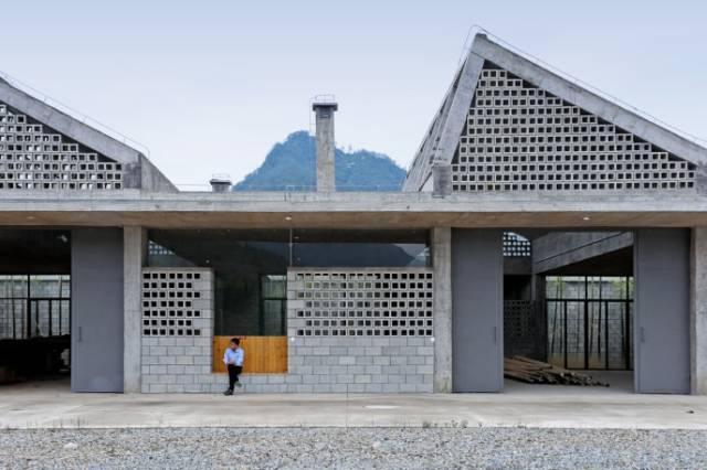 谁说混凝土砌块不能登大雅之堂?这款集功能与装饰一体堪称完美!
