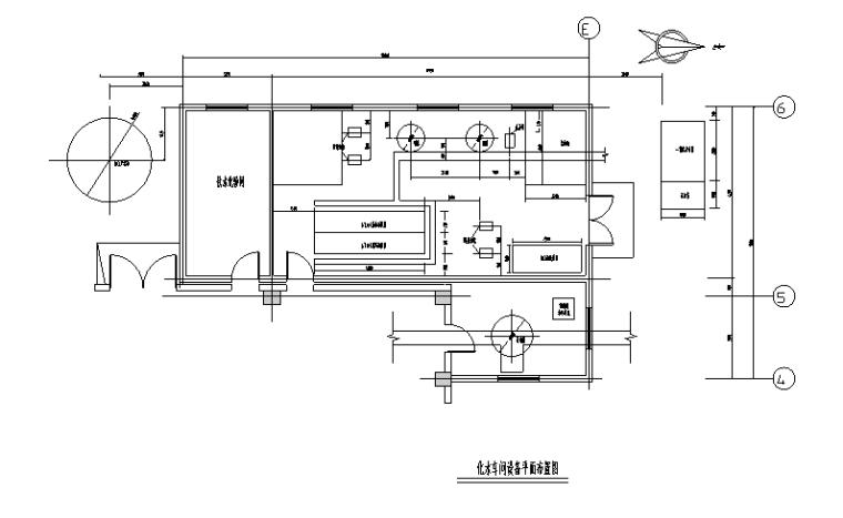 某电厂锅炉水处理图纸(CAD)