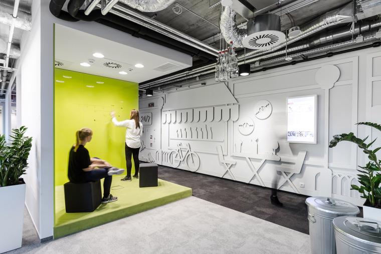 #办公空间设计案例#波兰MediaCom总部办公室-00