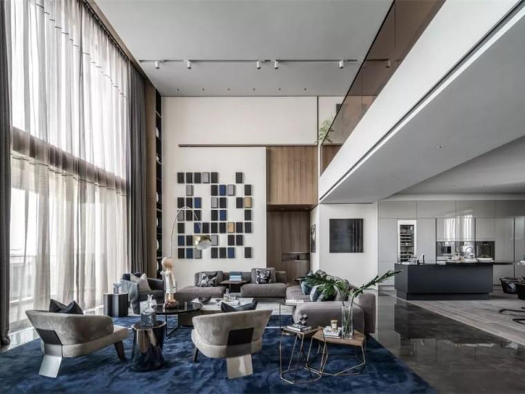 深圳半岛城邦花园三期顶层复式住宅