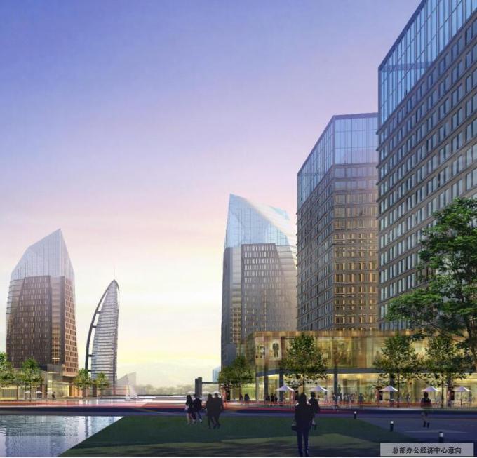 [河北]某河生态开发整治区城市景观设计