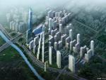 【广东】深圳大冲旧城改造城市综合体规划设计