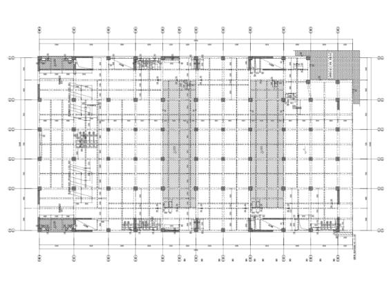[上海]框架/框剪结构数据中心全套结构施工图(CAD、PDF)