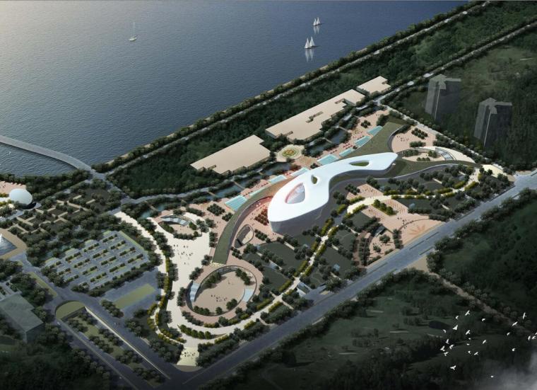 [江苏]徐州市文体活动中心建筑方案文本设计(JPG+71页)