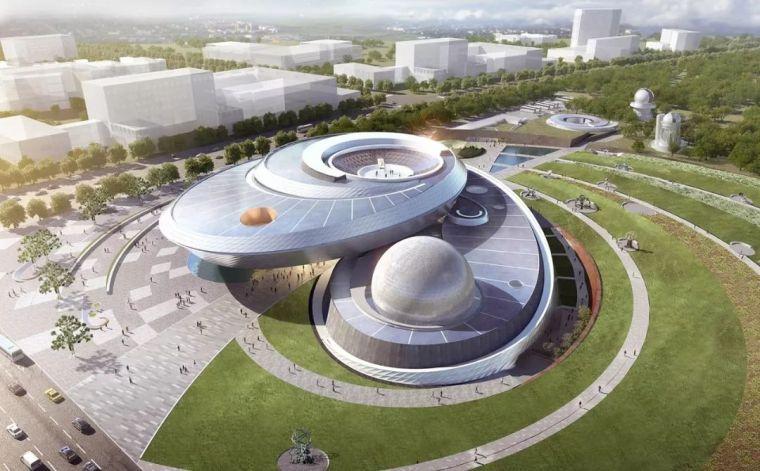 世界最大、最炫酷天文馆:上海天文馆结构设计大揭秘!
