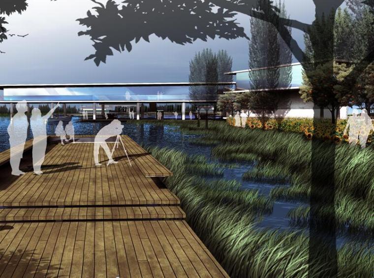 [上海]精文现代农业观光园设计方案文本(田园自然风光,体育)