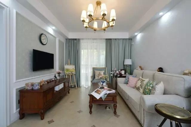 优雅简美的家居装修,半包现代简约风装修案例赏析