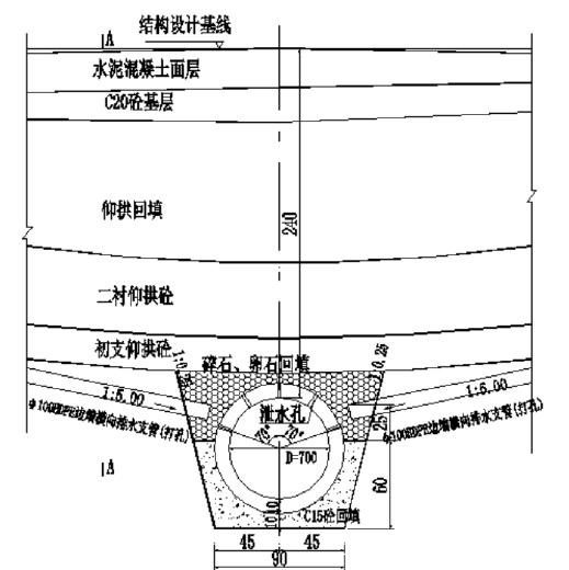 高铁客运专线隧道防排水技术交底书