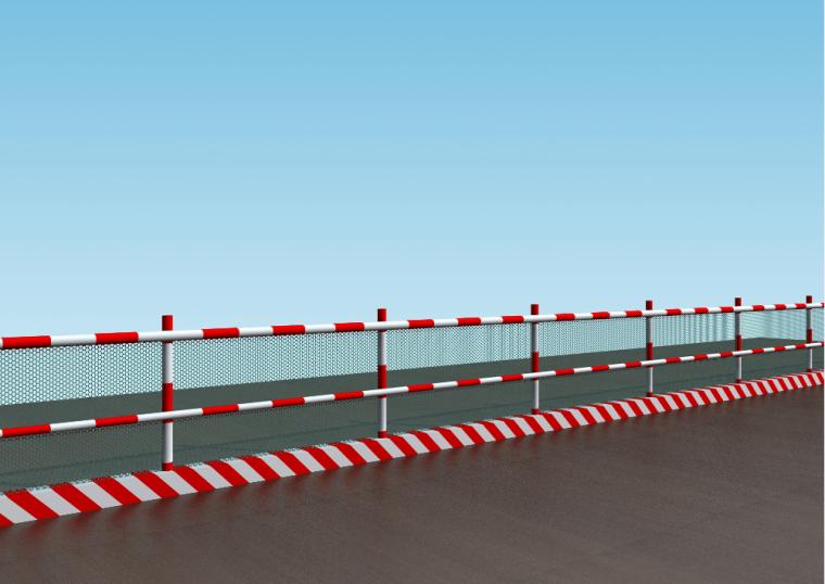 市政工程施工现场安全文明标准化管理图集(PPT,149页)-临边防护栏杆