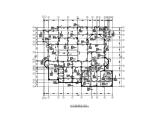 两层带夹层钢混框架结构别墅施工图(结构、水电、空调)