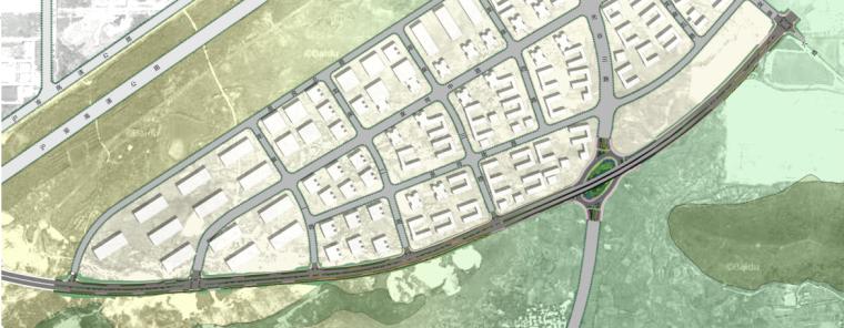 [湖北]中华一路道路景观规划设计(PDF+66页)-平面