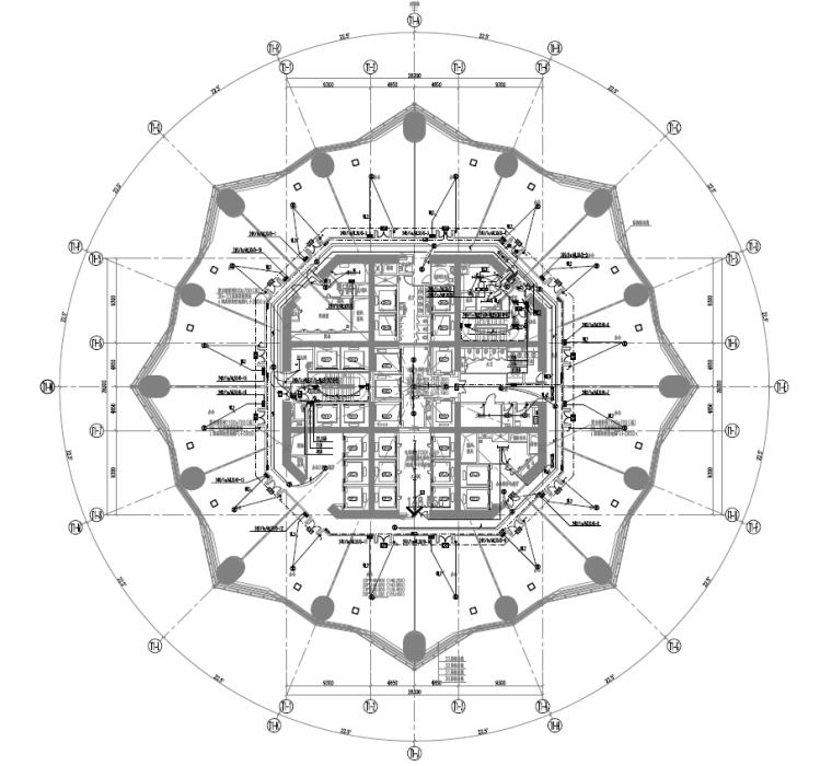 [西南地标]成都超高层综合体项目机电设备施工图(解压请看下方说明)