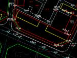如何根据道路标高确定建筑四角标高和建筑的正负零