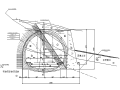 大通隧道出口明洞及洞口进洞方案