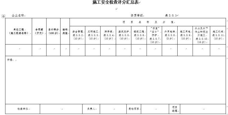 工程施工安全生产检查标准_5