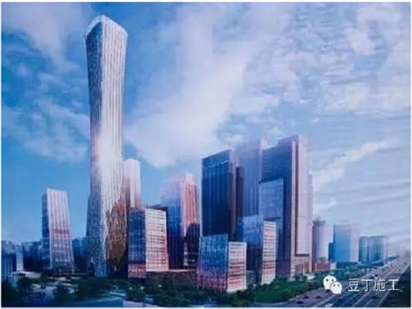 北京第一高楼——中国尊基坑施工动画_1