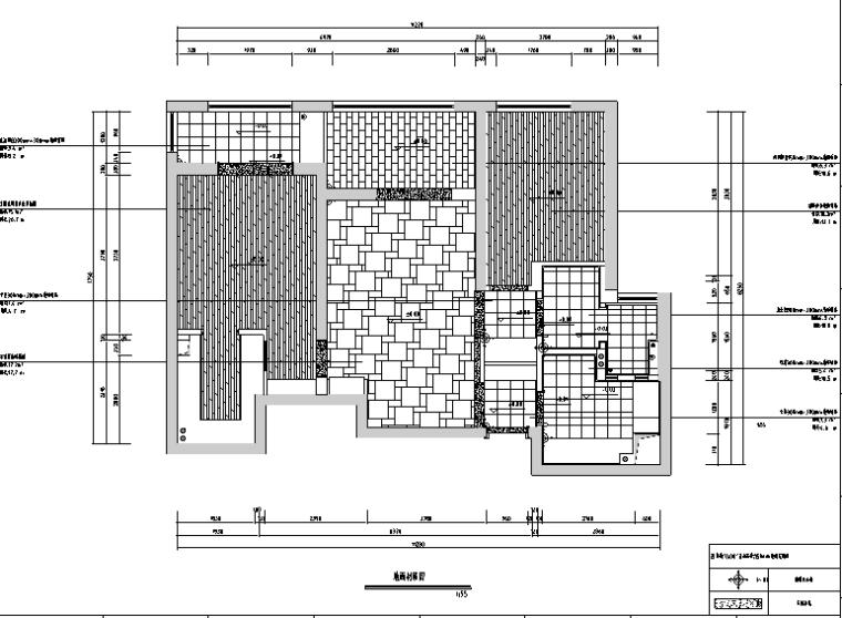 [湖北]紫色空间样板房设计施工图(附效果图)