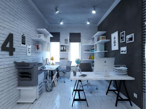 成都小型办公室装修合理布局-浓缩才是精华
