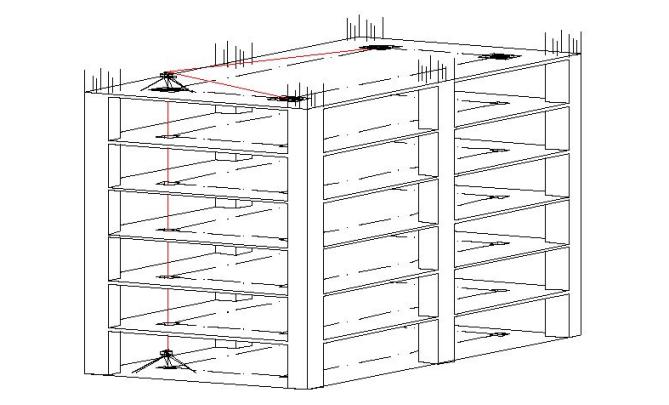 知名商业区测量施工方案
