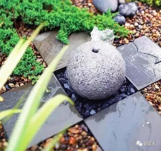 花园景观·石器小景_34