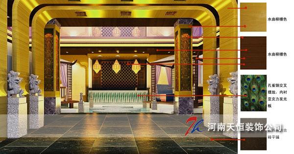郑州茶餐厅装修设计,圣谛茶餐厅装修设计案例