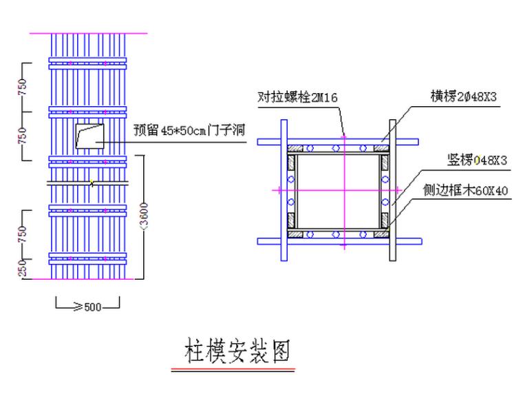 框架剪力墙结构住宅楼工程模板专项施工方案(39页)