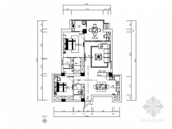 [瑞安]现代简约三居室样板房装修图(含效果)