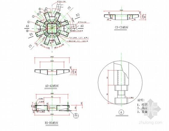 [上海]22米深基坑半逆作法施工一柱一桩专项施工方案(附结构详图)