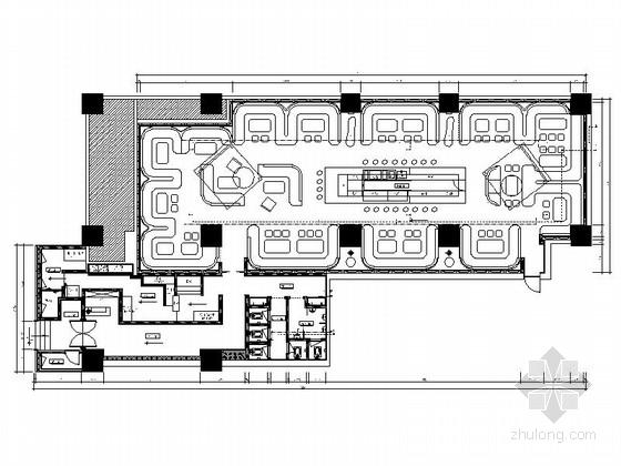 [广东]现代梦幻城堡主题酒吧室内装修设计施工图(含效果图)