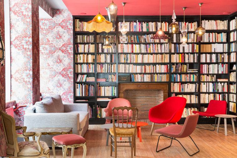 巴黎:HotelJosephine一个被花卉和色彩包裹的华丽空间_3