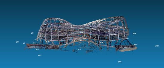 三维激光扫描仪在BIM行业中的应用-拼接处理点云数据-1.png