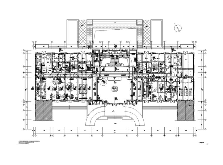 金地常州天际会所精装修施工图及效果图(54张)