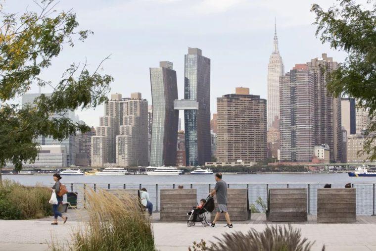 纽约最高天桥相连的新地标塔楼-美国铜大厦,曼哈顿/SHoP建筑