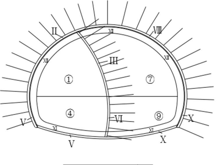 分离式隧道洞身开挖首件工程施工方案