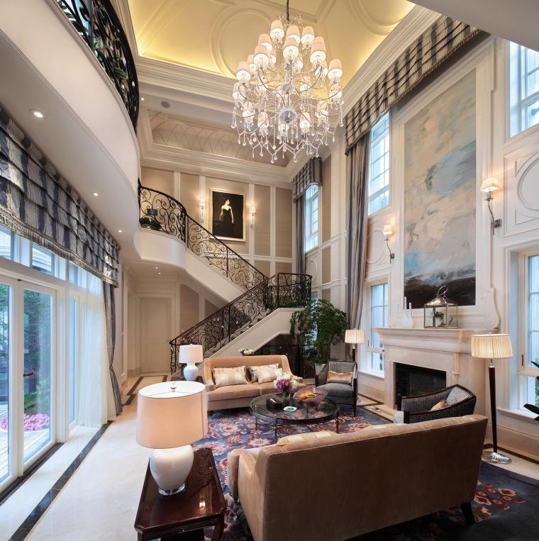 法式客厅设计实景图51P
