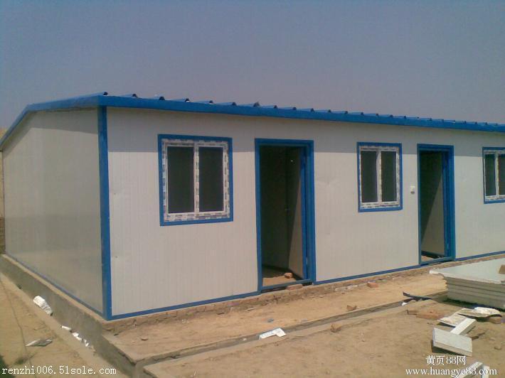 某夹芯彩钢活动房资料下载-北京顺义区彩钢板制作