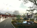 [四川]山泉小镇景观规划设计方案