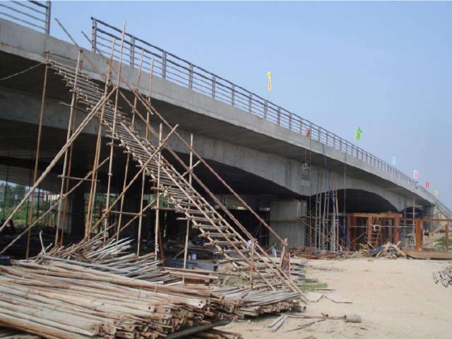 大桥32+55.5+32m变截面连续箱梁挂篮悬浇暨0#块支架现浇施工方案55页