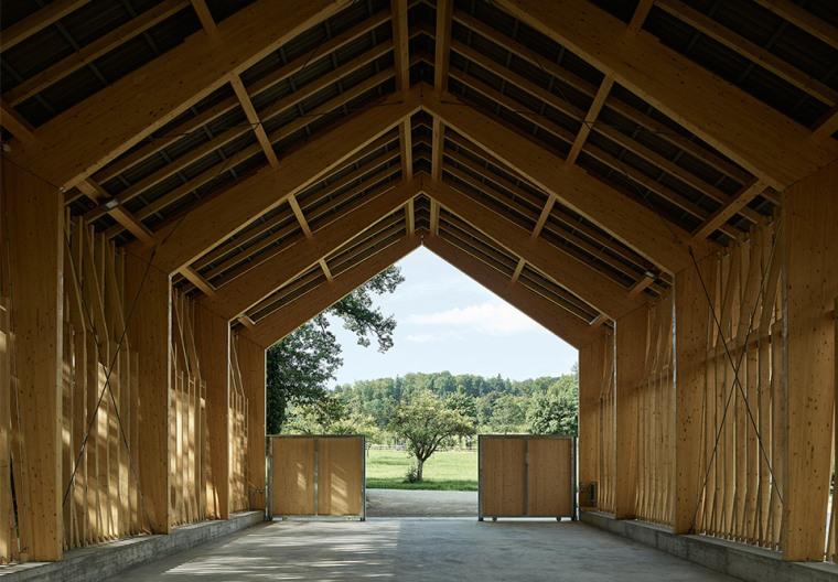 瑞士丛林木结构HolzkorporationDübendorf工厂-3