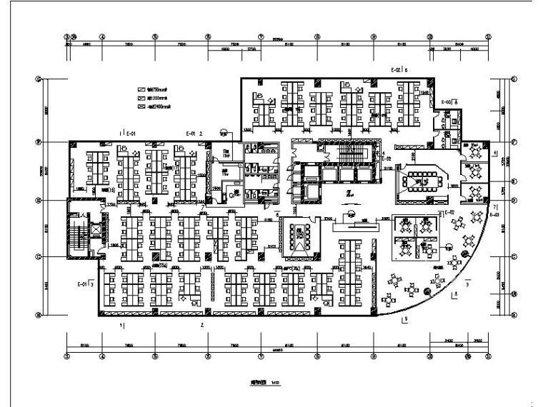 [北京]神州数码大厦写字楼装修设计施工图
