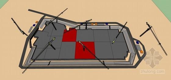 [江苏]框架结构地下车库跳仓法施工方案