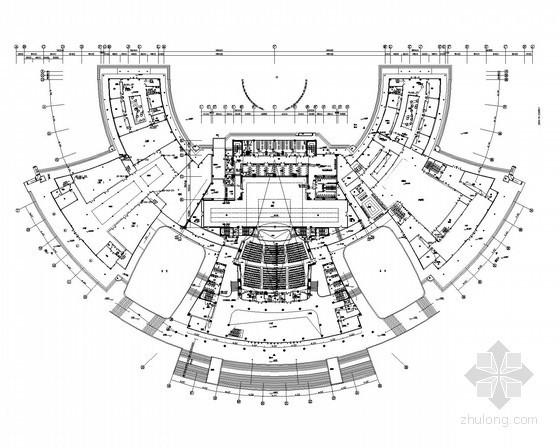 [湖南]甲级设计院甲级大剧院全套电气图纸65张