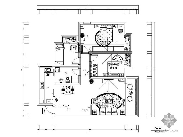 三居室内装修图_1