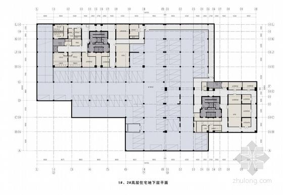 住宅区平面图