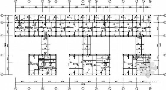 三层砌体农家院结构施工图(坡屋面)