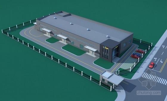 [江苏]钢结构科技研究实验室厂房建筑结构施工图