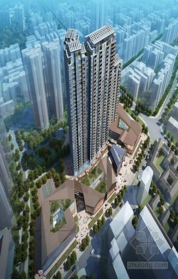 [成都]高层商住楼建筑设计方案文本